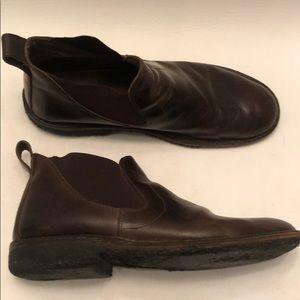 John Varvatos Shoes - John Varvatos Chukka Boot in Brown Leather size 13